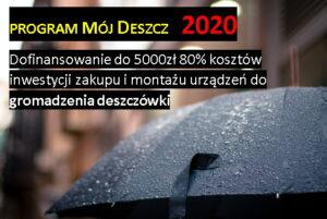 Mój deszcz 2020